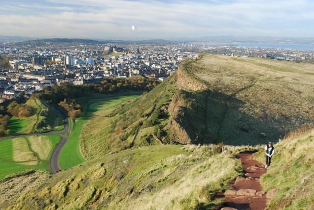Resultado de imagem para Edimburgo: Arthur's Seat