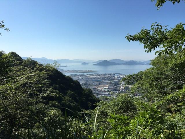 Inochuki as seen from Suzugamine mountain