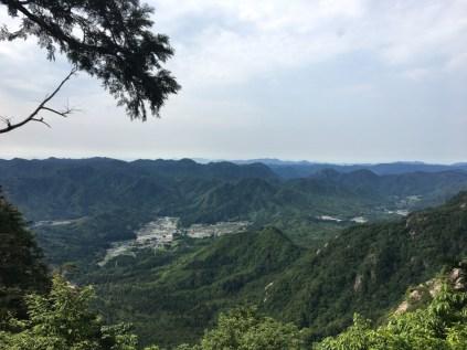 Three Peaks Wide Valley View