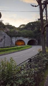 Tunnel at the end of Peace Boulevard.