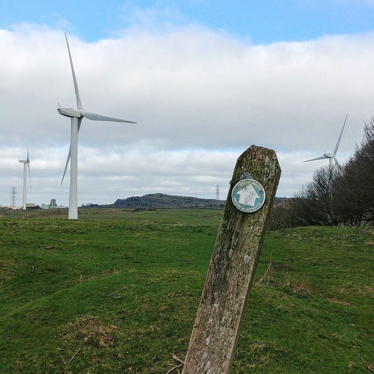 Wind Turbines, Carsington