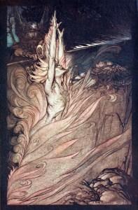 Loki, by Arthur Rackham