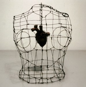 Armored Heart/Caged Heart by Renee Stout