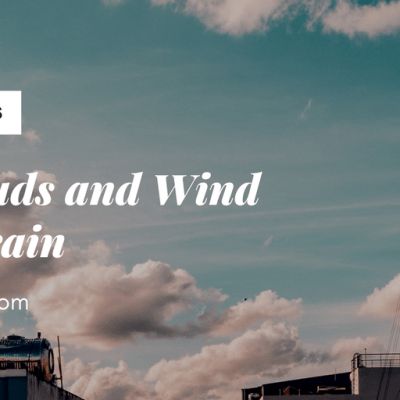 Day 16 ~ Like Clouds and Wind without rain