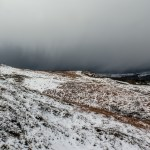 Snow storm approaching