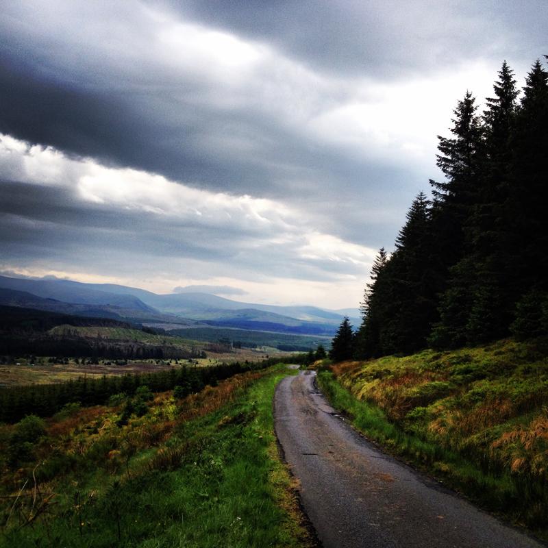 Taking the scenic route through Scotland