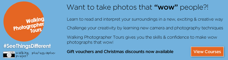 Photography lessons with Walking Photographer Tours
