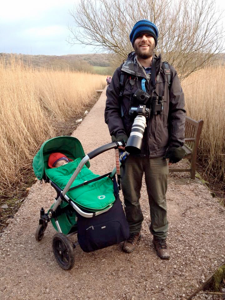 Rich Bunce Walking Photographer at Leighton Moss RSPB Nature Reserve