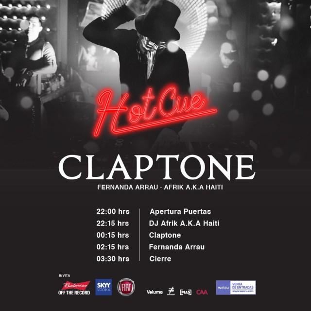 Horarios-HOTCUE-Claptone