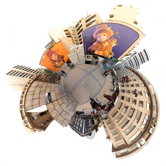 acceso-metro-bellas-artes-cortesia-chile-inmersivo-580x580