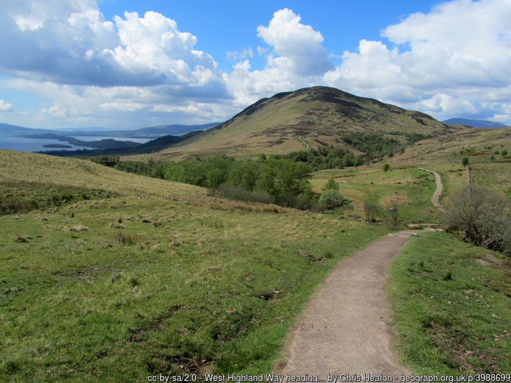 West Highland Way Section 2 - Drymen to Rowardennan via Balmaha