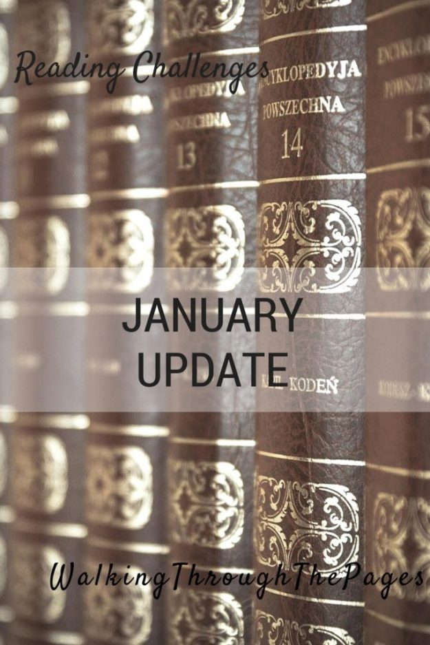 2016 Reading Challenges January Updates