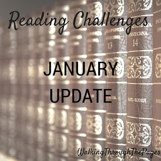 2016 Reading Challenges: January Update