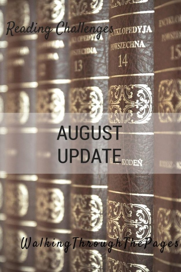 2016 Reading Challenges August Update