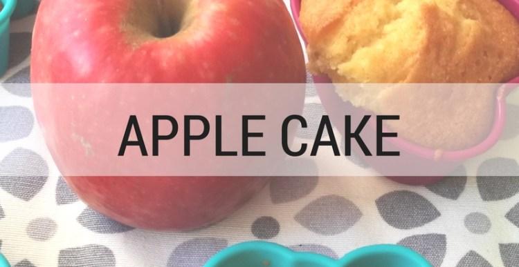 Recipes #5: Autumn-y Apple Cake