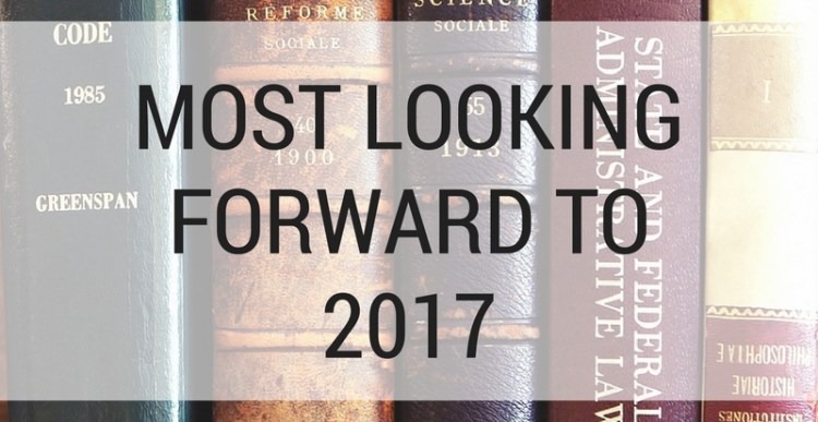 Weekly Lists #66: Books I'm looking forward to in 2017