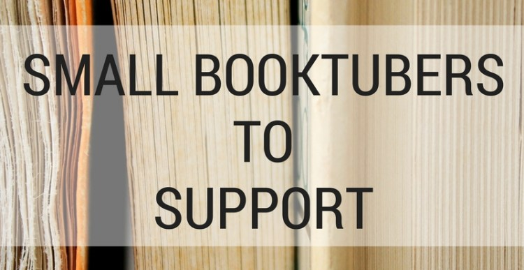 Weekly Lists #116: Small Booktubers to Support