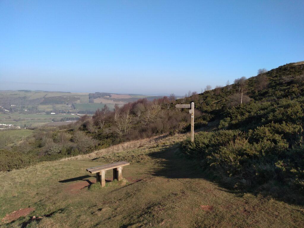 eildon hills walks