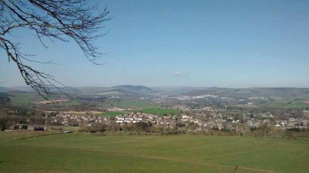 view across melrose