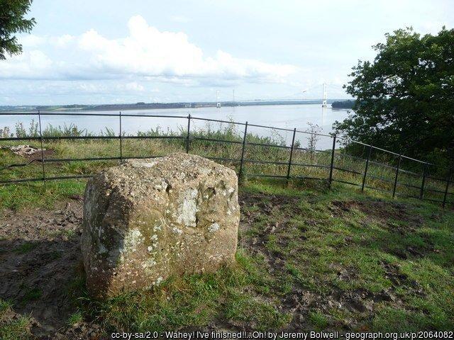 Offa's Dyke fromSedbury Cliffs (Chepstow) to Trefynwy / Monmouth