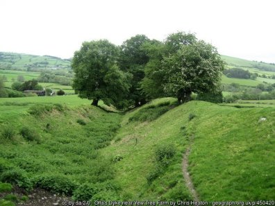 Offa's Dyke from Kington to Knighton / Tref-y-Clawdd