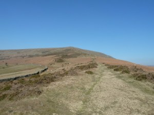 The Route From Table Mountain To Pen Cerrig-calch