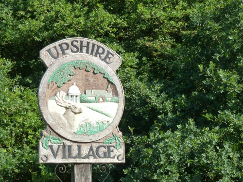 Upshire Village Sign Epping Forest Walking Route