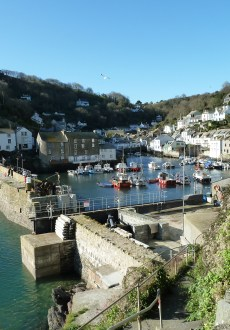 Beautiful Polperro in Cornwall