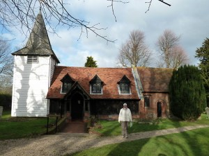 Walks And Walking – Essex Walks – Chipping Ongar Walking Route – Log Church Greensted