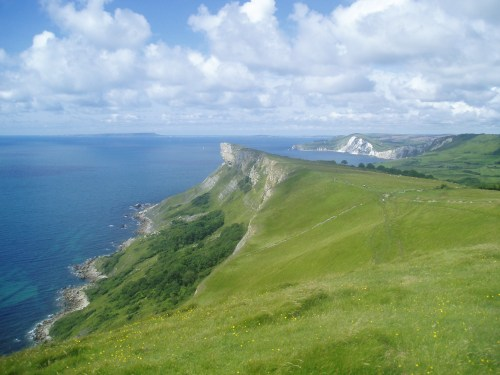 Walks And Walking - Dorest Walks - Gadd Cliff Wobarrow and Portland