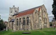 Walks And Walking - Essex Walks - Waltham Abbey Church