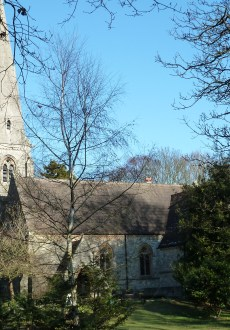 Walks And Walking - Essex Walks Epping Forest - High Beach Church