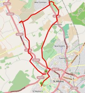 Walks And Walking - Hertfordshire Walks - St Albans Walking Route - ViewRanger