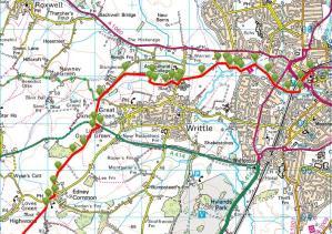 Walks And Walking - Essex Walks - Billericay to Chelmsford Walking Route - 3