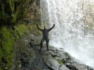 Walks And Walking – Wales Walks – Brecon Beacons Waterfalls Videos - Sgwd yr Eira Waterfall