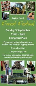 Walks And Walking - Epping Forest - Forest Festival 2012