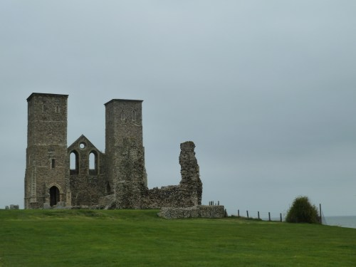 Walks And Walking - Kent Walks Herne Bay To Margate Walking Route - Behind Reculver Towers and Roman Fort