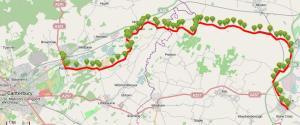Walks And Walking - Kent Walks Sturry To Sandwich Walking Route Map