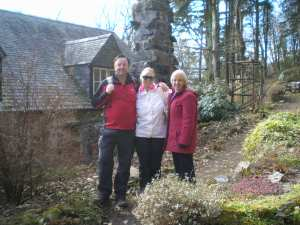 Walks And Walking - Wales Walks Snowdonia Betws-y-Coed Walking Route - Behind Ty Hyll - The Ugly House