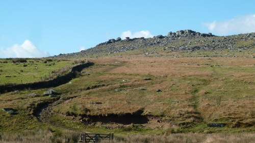 Walks And Walking - Cornwall Walks Bodmin Moor Rough Tor And Brown Willy Walking Route - Looking back to Rough Tor