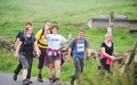 Walks And Walking - Jane Tomlinson Peak District Walk April 2013 - Peaks 1