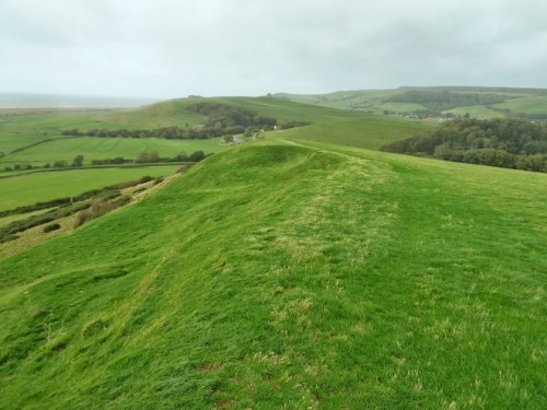 Walks And Walking - Weymouth Walks Abbotsbury Walking Route - Views To Abbotsbury