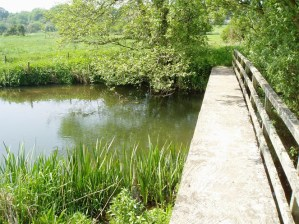 Walks And Walking - Top 3 Walks in Stratton Dorset - Footbridge Over The River Frome At Grimstone