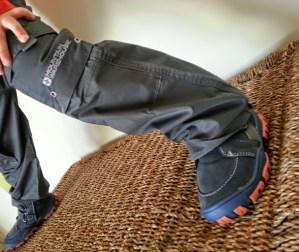 Walks And Walking - Mountain Warehouse Kids - Walking Trousers and Walking Boots