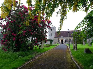 Walks And Walking - Newburn Farm Kington Walking Route - Titley Church