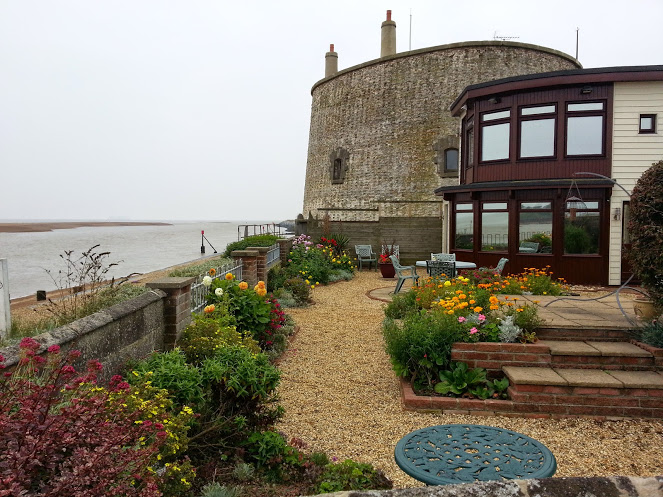 Felixstowe September 2014 - Martello Tower Garden
