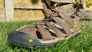 KEEN Clearwater Leather CNX Walking Sandals