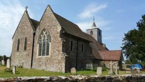 Walks And Walking - Newington Walk In Kent - Church
