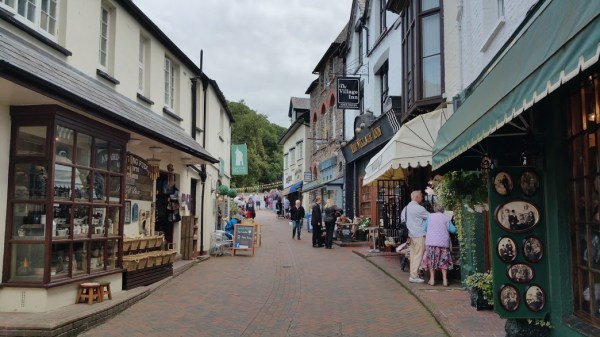 HF Holidays 4 Mile Family Circular Walk In Lynmouth - Valley of Rocks - Lynmouth Shops