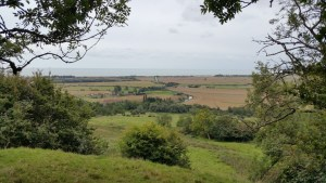Walks And Walking - West Hythe Walk In Kent - Views Out To Dymchurch